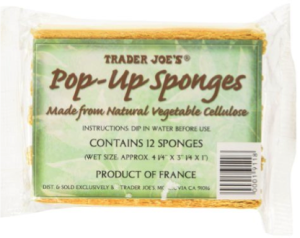 16. Trader Joe's Pop-Up Sponges