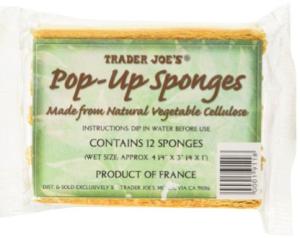16. Trader Joe's Pop-Up Sponges