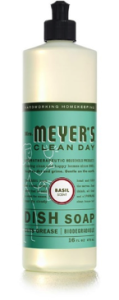 4. Mrs. Meyers Dish Soap